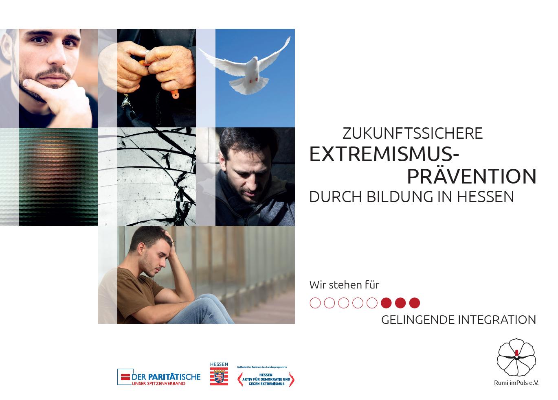 Broschuere zum Projekt Zukunftssichere Extremismusprävention durch Bildung in Hessen